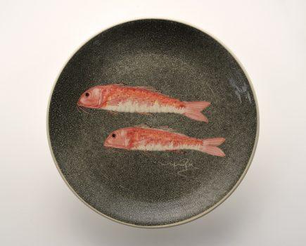 Πιάτο | Λευκός πηλός | Μπαρμπούνι