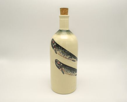 Μπουκάλι Στενό | Λευκός πηλός | Σαρδέλα