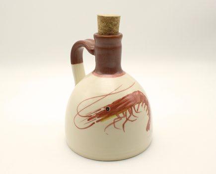 Μπουκάλι | Κόκκινος πηλός | Γαρίδα