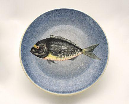 Πιάτο | Λευκός πηλός | Τσιπούρα